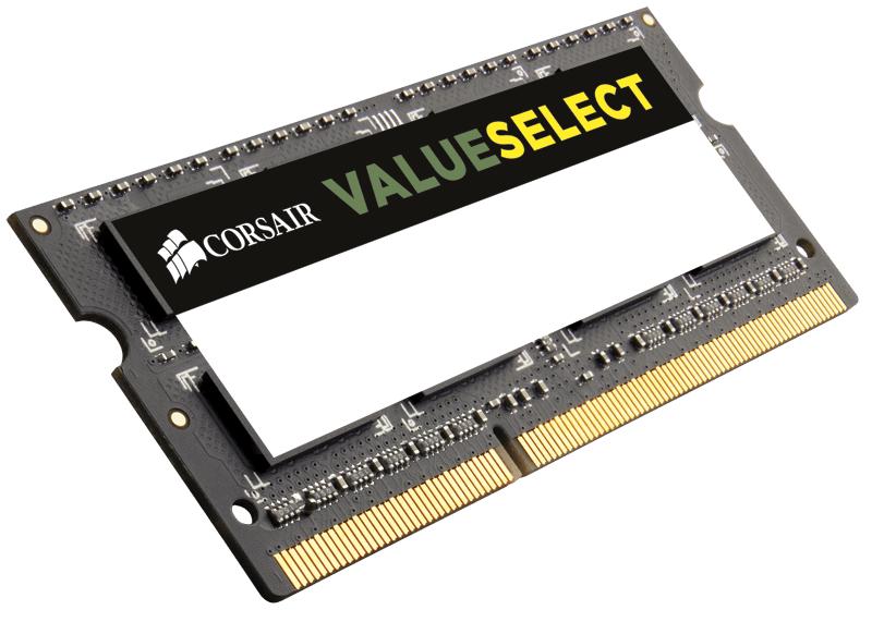 Mémoire Ram 1 x 8Go SoDimm DDR3 Corsair ValueSelect - PC3-12800 - CAS 11