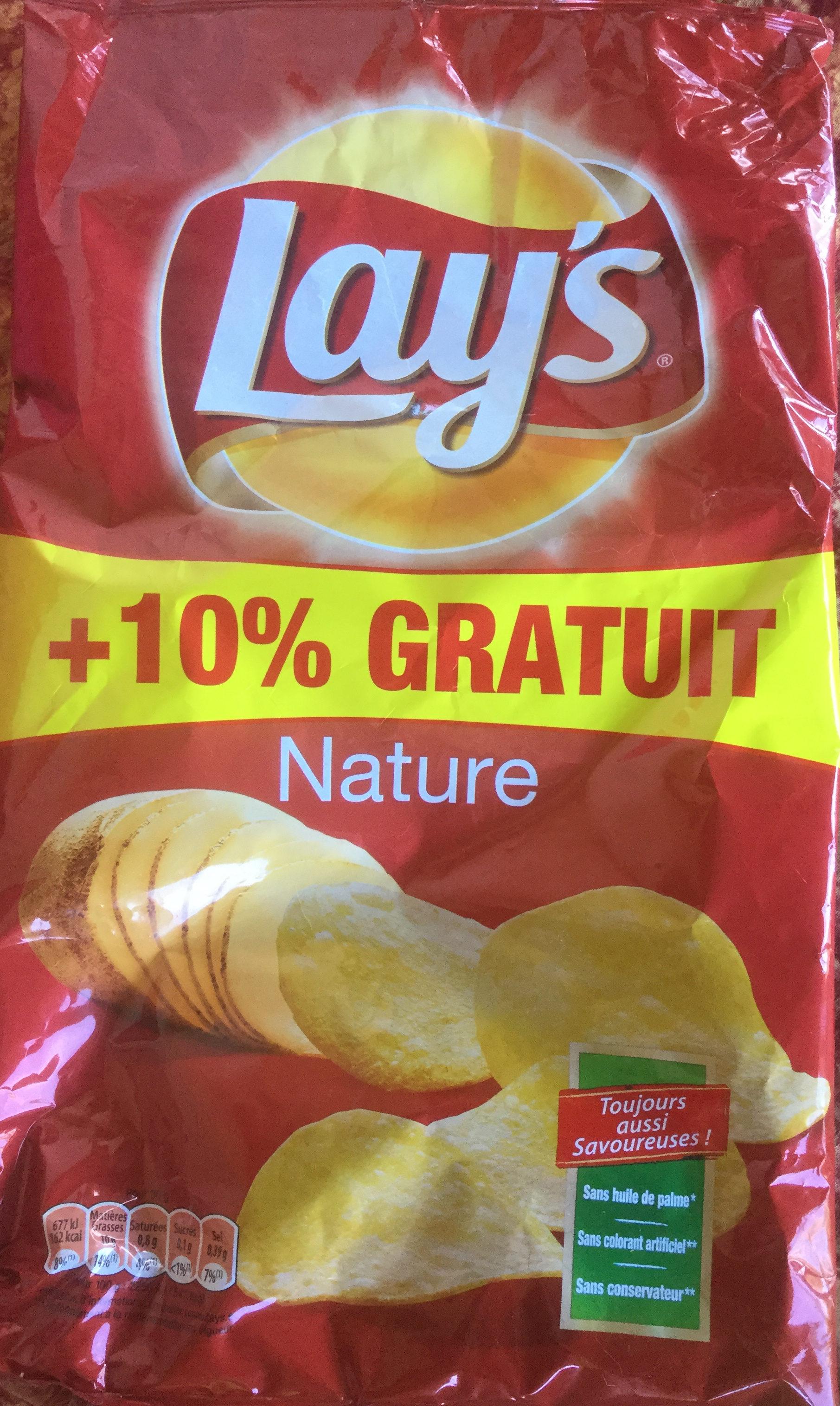 Paquet de chips nature Lay's - 300 g au HMarket Aulnay-sous-Bois (93)