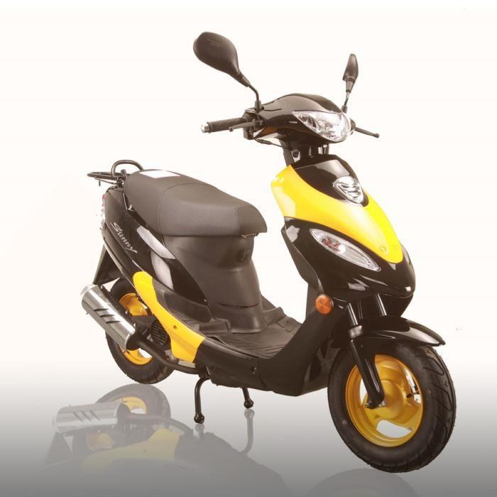 Scooter Shenke Sunny 50cc - jaune et noir
