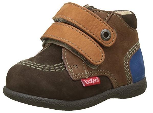 Chaussures pour bébé Kickers Babyscratch coloris fille et garçon (Taille 18 à 24)