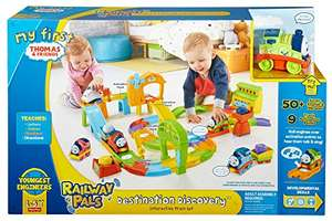 Fisher Price - Smart Tracks Deluxe Set