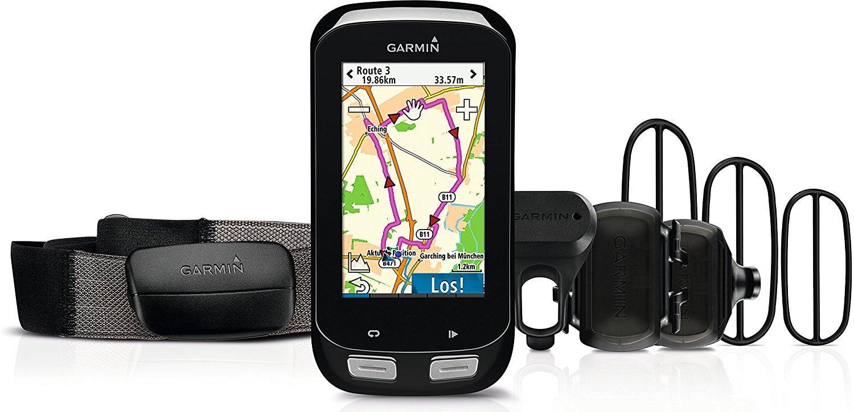 Pack complet GPS pour vélo Garmin Edge 1000