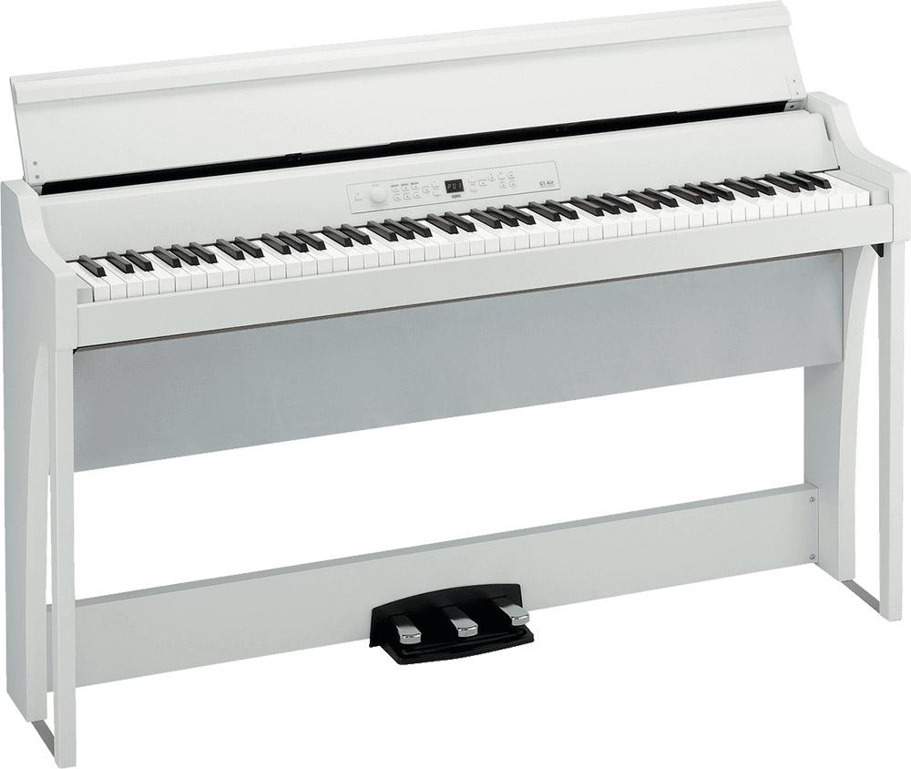 Piano numérique meuble Korg G1 Air - blanc