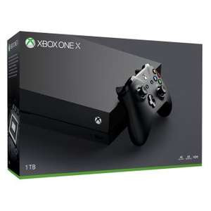 Pack console Microsoft Xbox One X (1 To) + carte cadeau de 42.7€ (frontaliers Suisse)