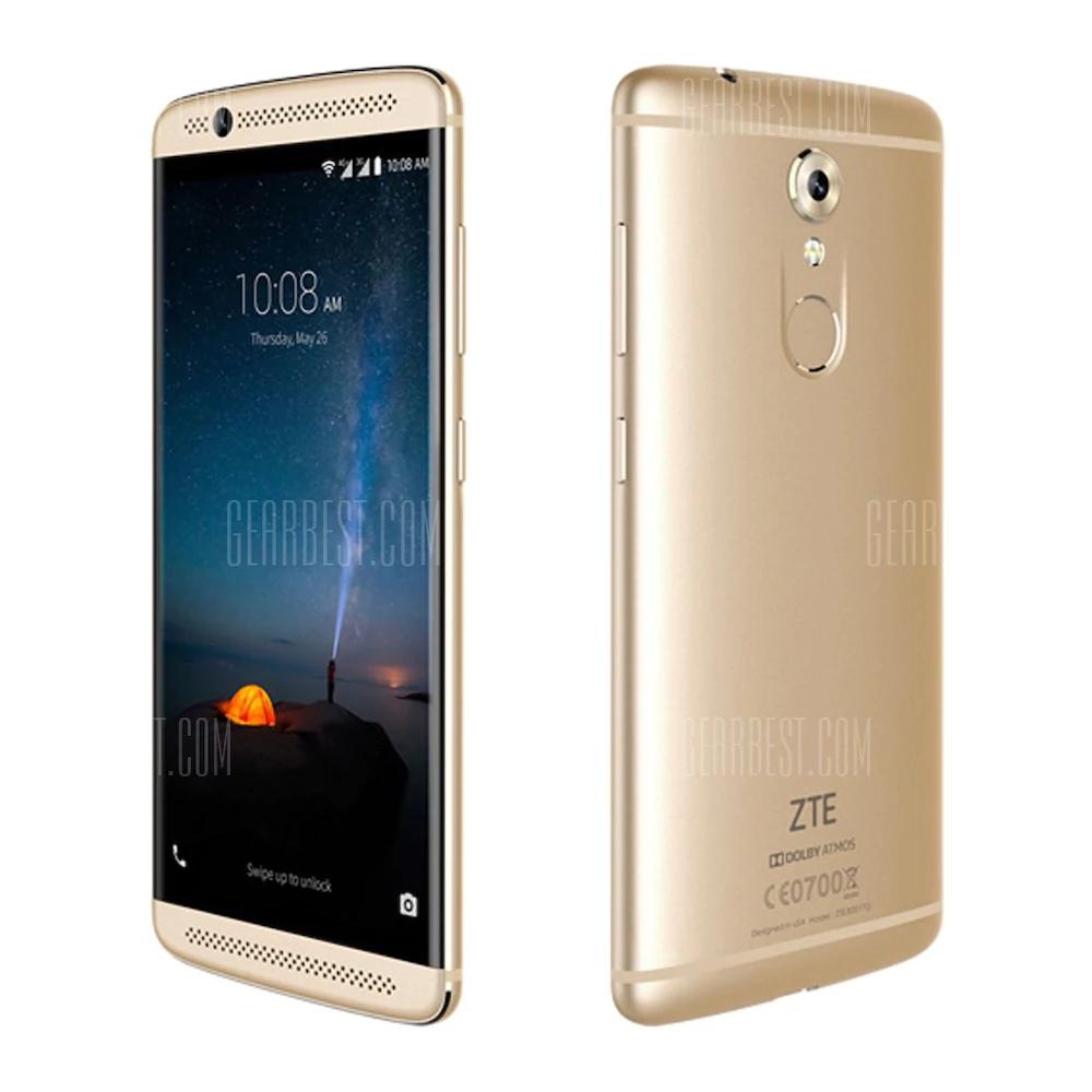 "Smartphone 5.2"" ZTE Axon 7 Mini - full HD, SnapDragon 617, 3 Go de RAM, 32 Go, 4G (B20), or"