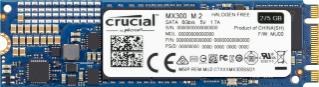 SSD interne M.2 2280 Crucial MX300 - 275 Go