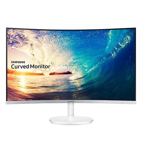"""Ecran PC 27"""" Samsung C27F581 - Full HD 4ms  Dalle VA incurvée avec odr 15%"""