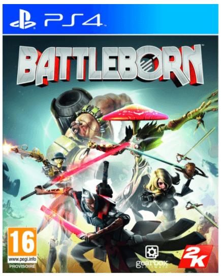 Jeu Battleborn sur PS4