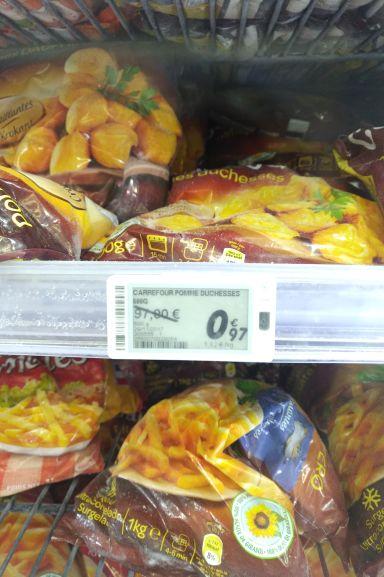 Paquet de Pommes Duchesse Carrefour (600g) - Colomiers (31)