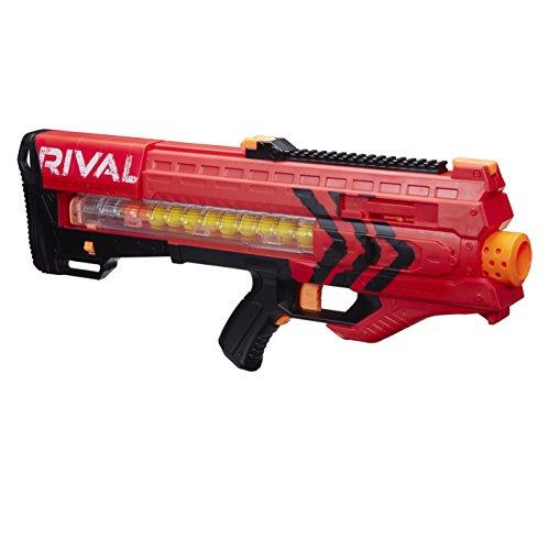 Pistolet à billes en mousse Nerf Rival Zeus MXV 1200 - rouge