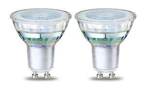 Lot de 2 ampoules Spot LED AmazonBasics GU10 - 4.6W