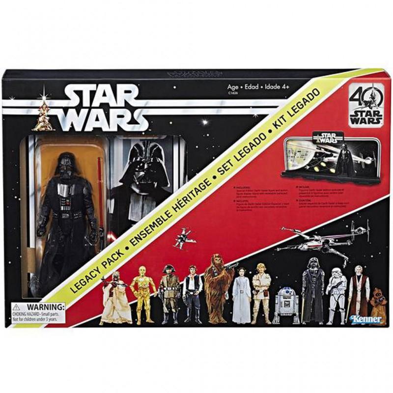 Sélection de Produits Star Wars en Promotion - Ex: Coffret Star Wars Edition 40ème Anniversaire avec figurine Dark Vador