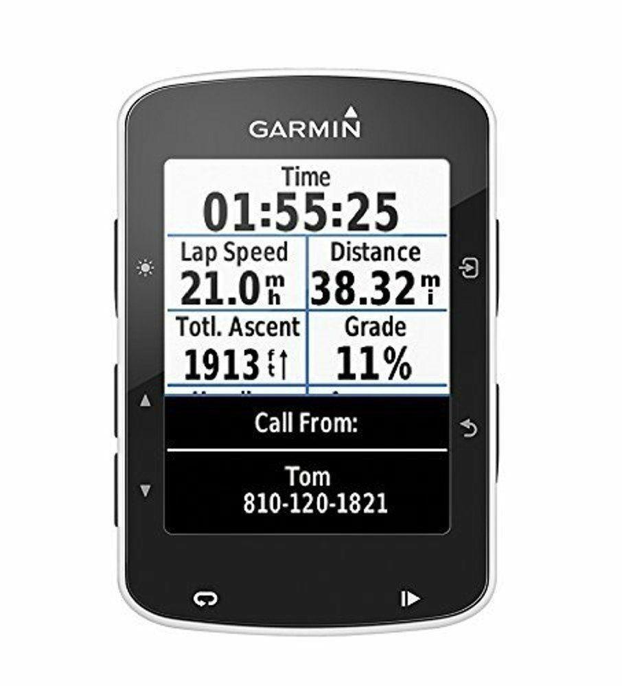 """GPS 2.3"""" Garmin Edge 520 pour Vélos - Noir"""