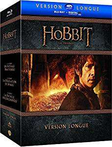 Coffret Blu-Ray Le Hobbit - La Trilogie - Version Longue