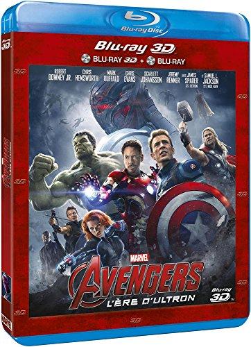 Avengers : L'ère d'Ultron - Combo Blu-ray 3D + Blu-ray 2D (vendeur tiers)