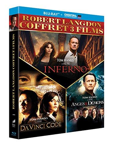 Coffret 3 films : Da Vinci Code + Anges & démons + Inferno [Blu-ray + Copie digitale]