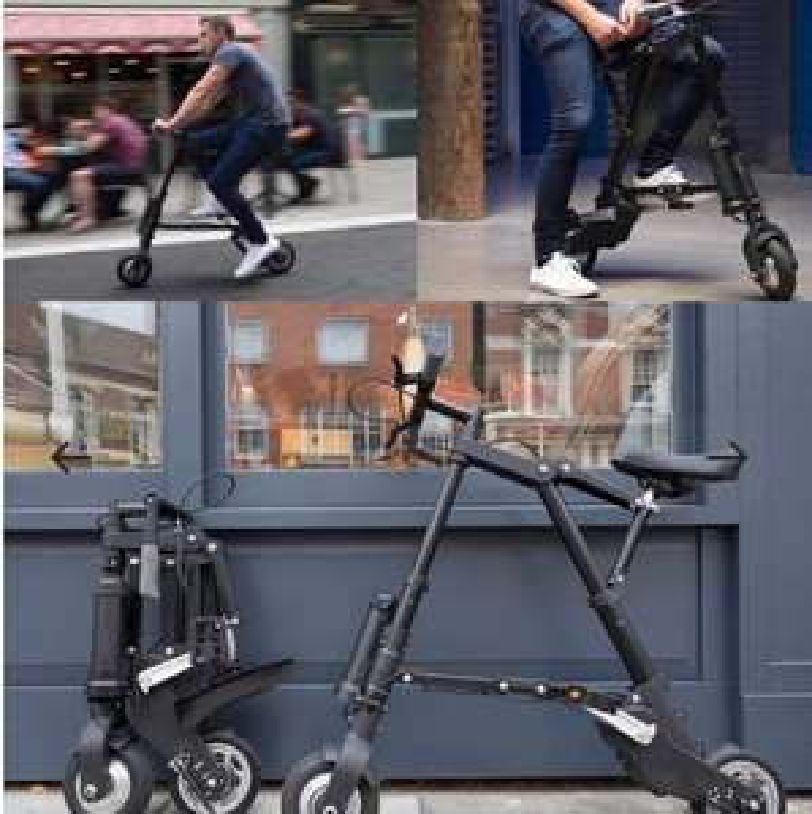 Vélo électrique pliant ultra compact A-Bike