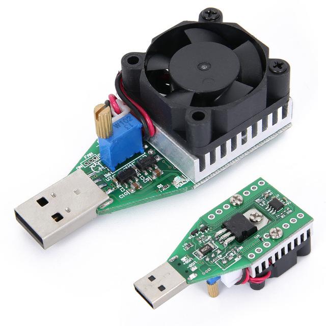 Résistance variable de test pour Panneaux solairees avec USB / Chargeurs USB / batteries externes
