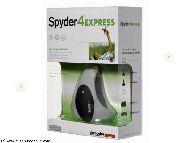 Sonde de calibration Datacolor Spyder4 Express et autres modèles