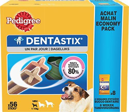 Boite de 56 sticks de friandises Pedigree Dentastix pour chien