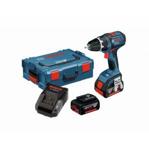 Bosch pro. Perceuse visseuse GSR 18V - 2 batteries 4.0Ah + chargeur + coffret (vendeurs tiers)