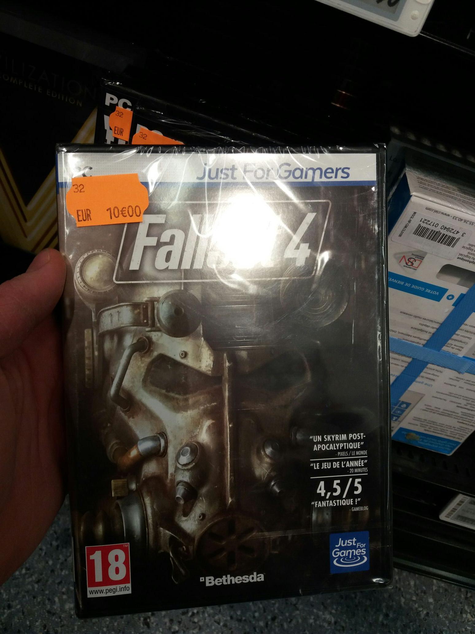Jeu Fallout 4 sur PC - Carrefour Part Dieu Lyon (69)