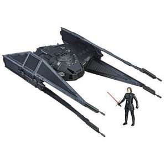 Véhicule et figurine Star Wars Episode VIII Tie Silencer et Kylo Ren 10 cm