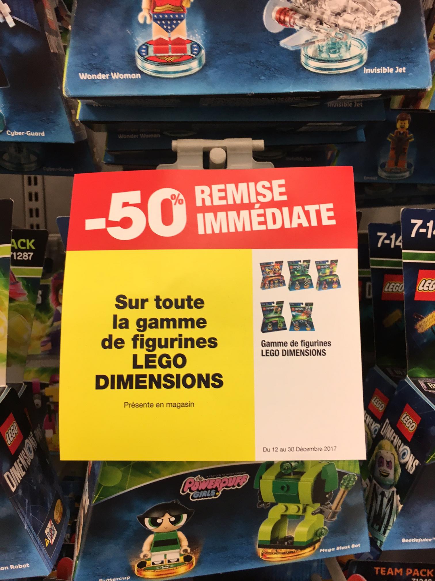 -50% sur toute la gamme de figurine LEGO Dimensions - Carré Sénart (77)