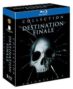 Coffret Blu-ray Destination Finale (5 films)