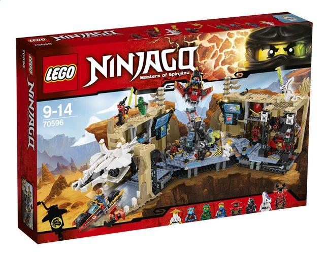 Jeu de construction Lego NinjagoLa grotte du Samouraï X - 70596 (Frontaliers Belgique)