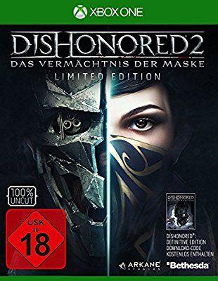 Jeu Dishonored 2 sur Xbox One (Dishonored 1: édition définitive inclus)