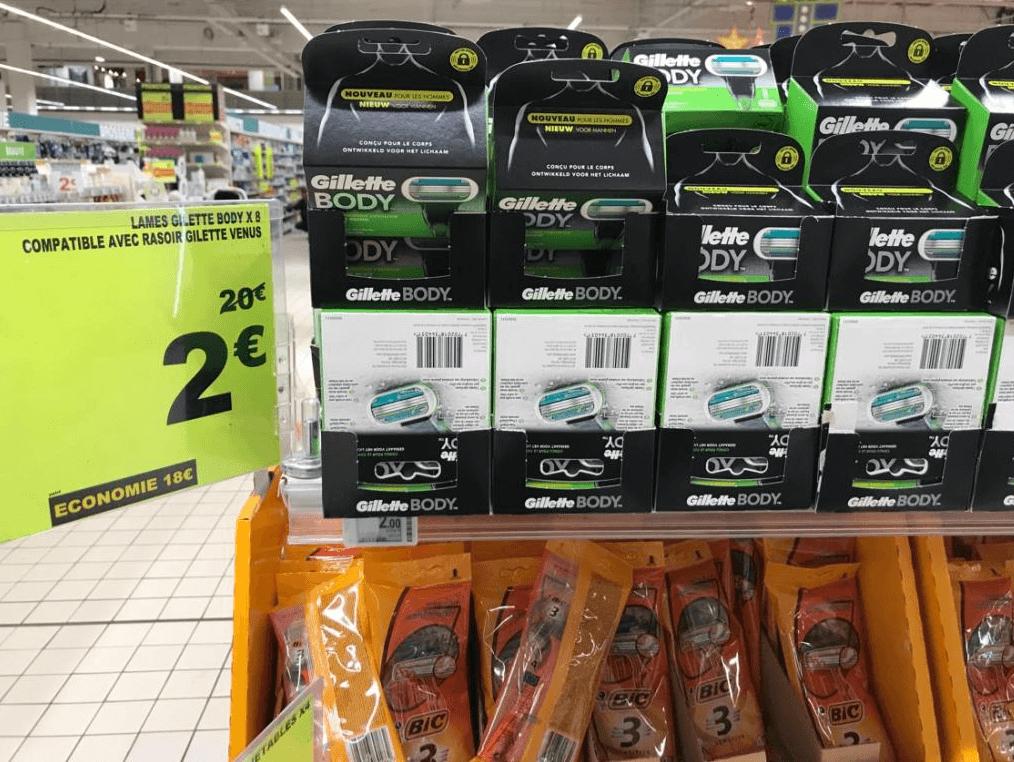 Lot de 8 Lames Gilette Body pour Gillette Venus - Auchan Aubagne (13)