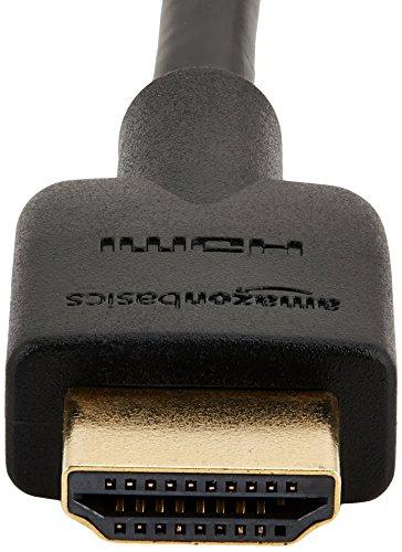 AmazonBasics Lot de 3 câbles HDMI 2.0 haut débit UHD 1,8 mètre