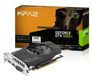 Carte graphique KFA2 Geforce GTX 1050 Ti OC - 4Go