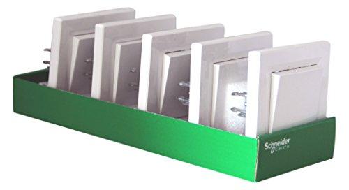 Lot de 5 Interrupteurs va-et-vient Schneider Electric Asfora SC5EPH0423121