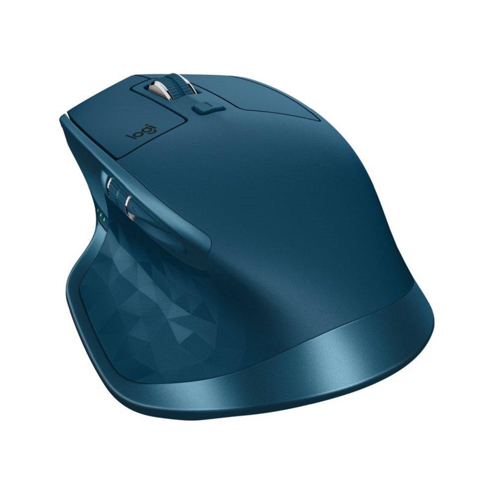 Souris sans fil Logitech MX Master 2S - Bleu ou gris clair