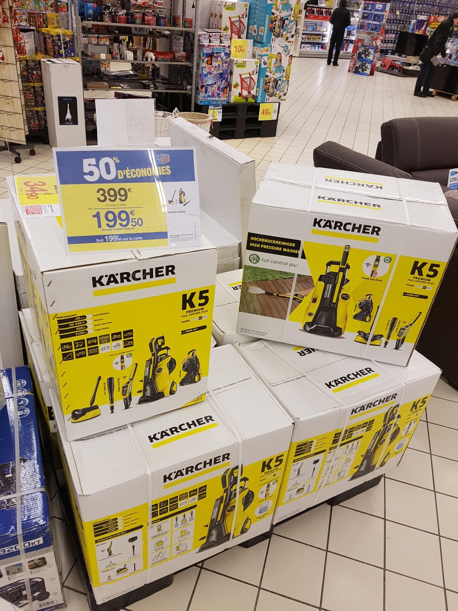 Karcher K5 (via 199,50€ fidélité) - Carré Sénart (77)