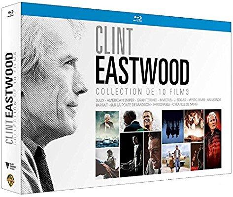 Coffret blu-ray Clint Eastwood (10 films)