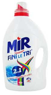 Sélection de Produits en Promotion - Ex: Bidon de Lessive 2-en-1 Mir Couleurs Fini le Tri (3L - 41 Lavages - Via BDR 3€)