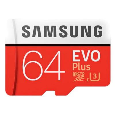 Carte microSDXC Samsung 64Go - U3 Classe 10
