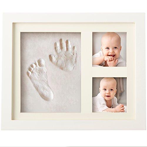 Kit de moulage empreintes de pieds/mains pour bébé + cadre photo (Vendeur tiers)