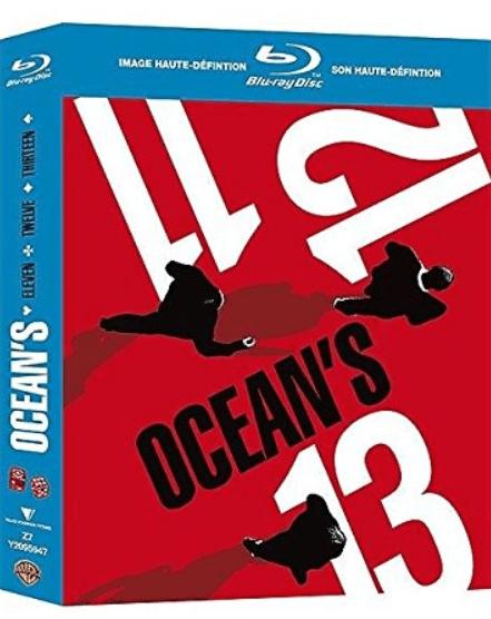 Coffret Blu-ray Trilogie Ocean's 11 12 13