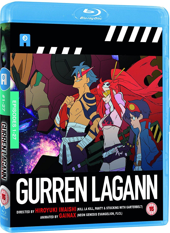 Blu-ray : Gurren Lagann - The Complete Collection (Vo et Vostfr)