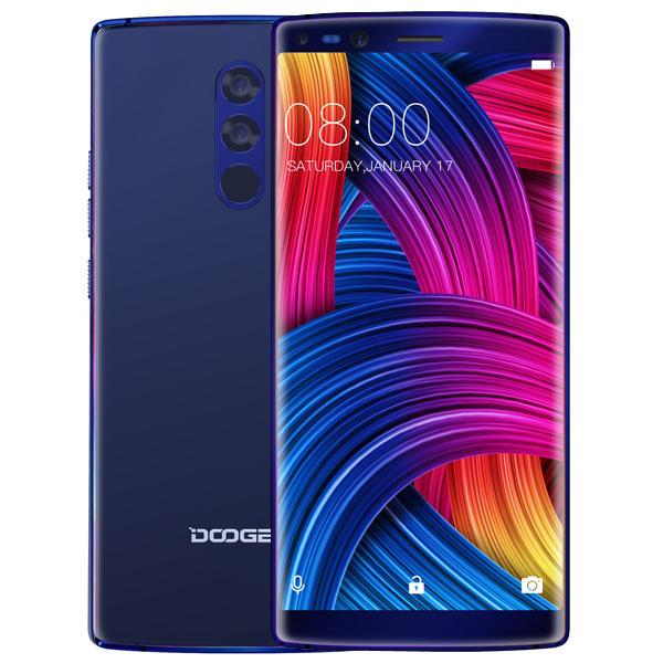 """Smartphone 5.99"""" Doogee Mix 2 - 6Go de RAM, 64Go, Helio P25 Octa-Core (B20)"""