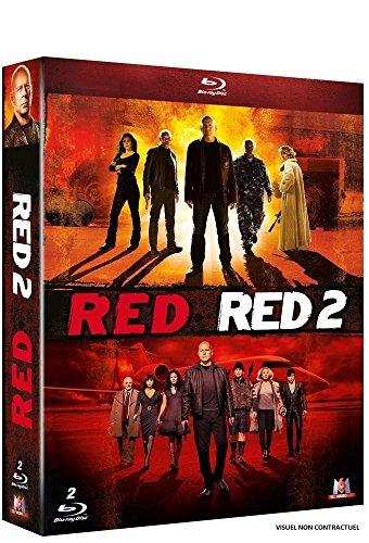 Coffret Blu-ray RED + RED 2 (vendeur tiers)