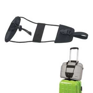 Fixation bagage sur valise trolley