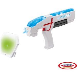 Pistolet laser + Plastron Laser X => 13 € si acheté par 4 soit 52 €