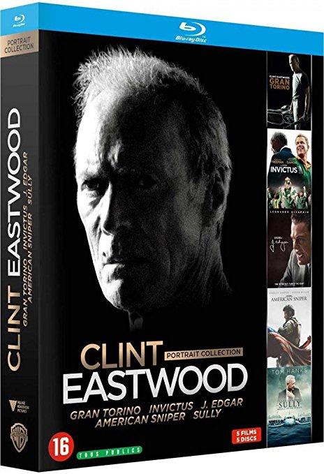 Coffret blu-ray Clint Eastwood : portrait collection (5 films)