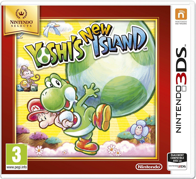 Jeu Yoshi's New Island sur Nintendo 3DS