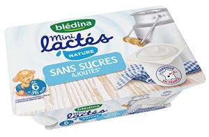 Lot de 2 packs de 6 yaourts Blédina Mini Lactés gratuits (au lieu de 3.32€)